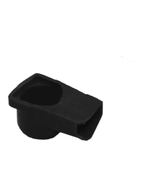 Rubber Terminal Cover (Black)