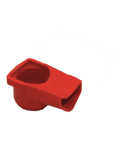 Rubber Terminal Cover (Red)