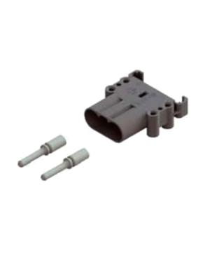 RAVIOLI DIN 160 AMP PLUG (MALE) WITH 50MM CONTACTS AND REDUCERS TO 35MM
