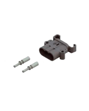 RAVIOLI DIN 80 AMP PLUG (MALE) WITH 25MM CONTACTS AND REDUCERS TO 16MM