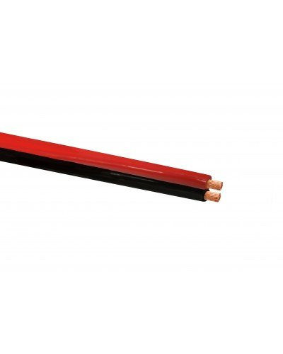 Twin Flex Cable 50mm Red & Black