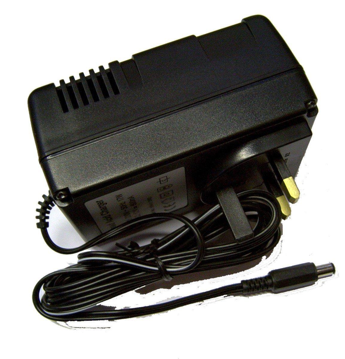 Philadelphia Scientific: HydroFill Charger 3-Pin UK 220VAC/12VDC 2.1mm (With EU Plug Adapter)