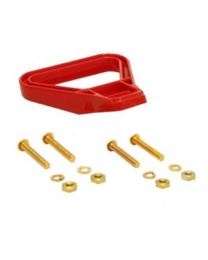 Anderson Cranked Handle - Red