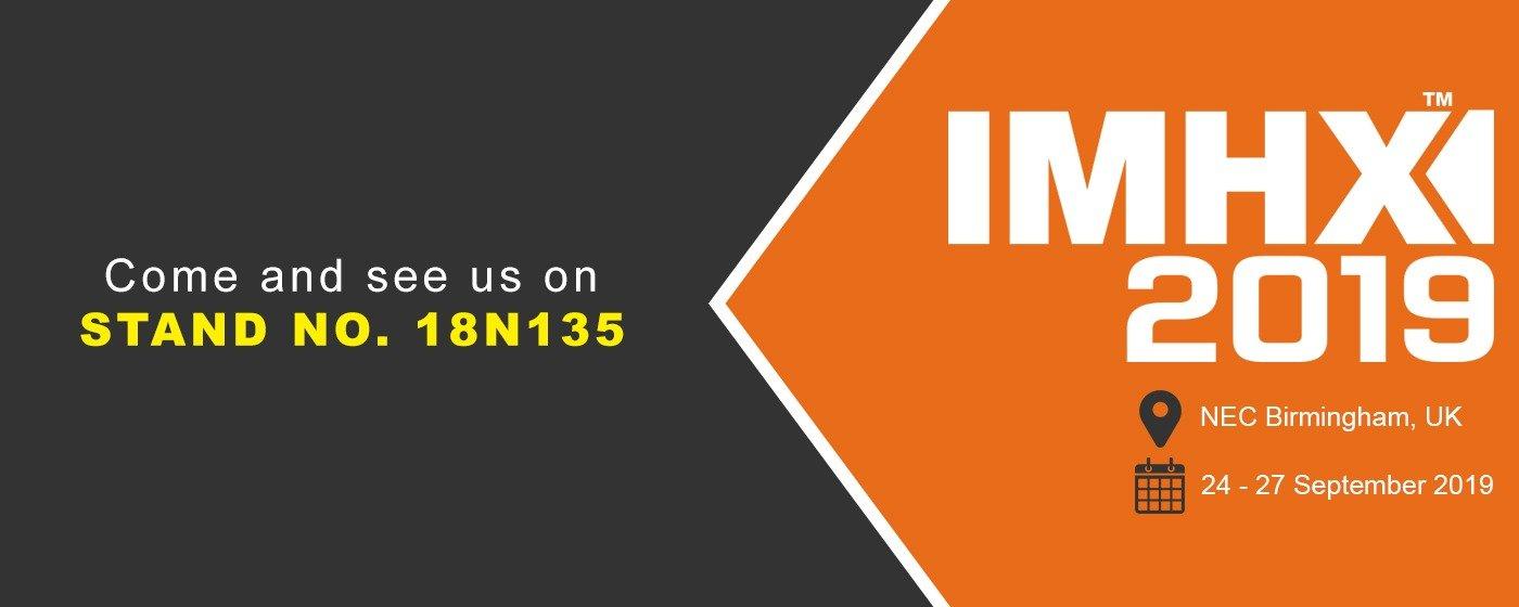 Visit us at IMHX 2019