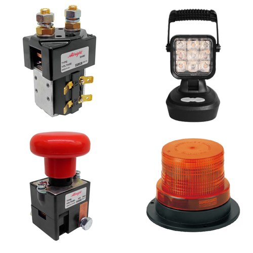 Forklift Parts - Beacons & Contactors